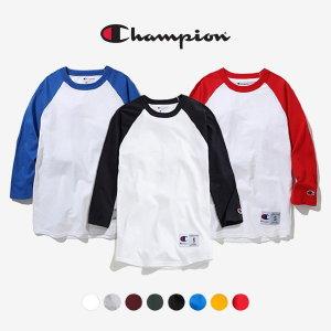 챔피온 나그랑 T137 베이스볼 3/4 티셔츠