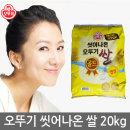 씻어나온 쌀 20kg 2018년산 박스포장 최근도정
