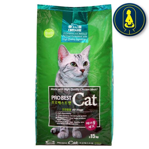 프로베스트캣 15kg 고양이사료
