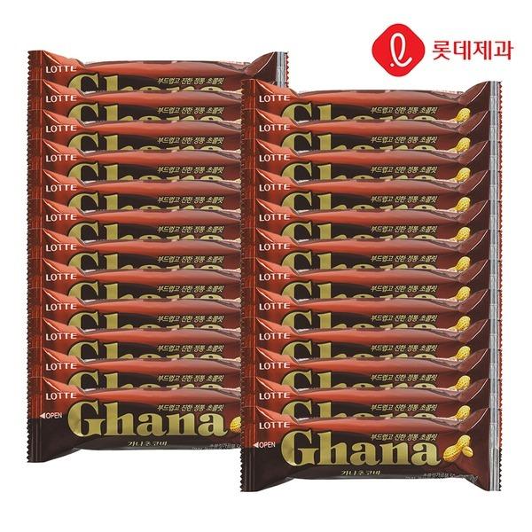 가나초코바 땅콩 50g X 24개