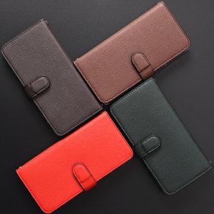 갤럭시 노트8 N950 가죽 지갑형 핸드폰 케이스 심플