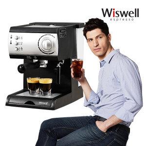 DL-310 커피머신 에스프레소머신  커피메이커 15bar