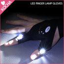 KOCHA 빛나는 LED 손가락 장갑 라이트 낚시 /오른손