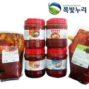 뉴그린 냉면 비빔국수 쫄면 막국수 떡볶이 양념 소스