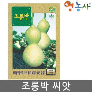 조롱박 씨앗 20립 채소씨앗  박씨 박씨앗 표주박씨앗