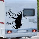 차량 포인트 타투 스티커 드래곤 대형차 데칼 캠핑