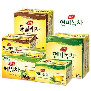 (무료배송)동서 현미녹차 200T/녹차티백/담터/오뚜기