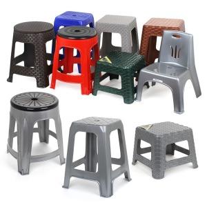 플라스틱의자 회전의자 행사용 간이의자 포장마차의자