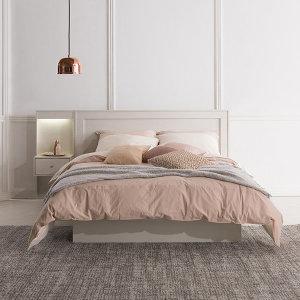 데이지 일면형 퀸 침대 (매트별도)
