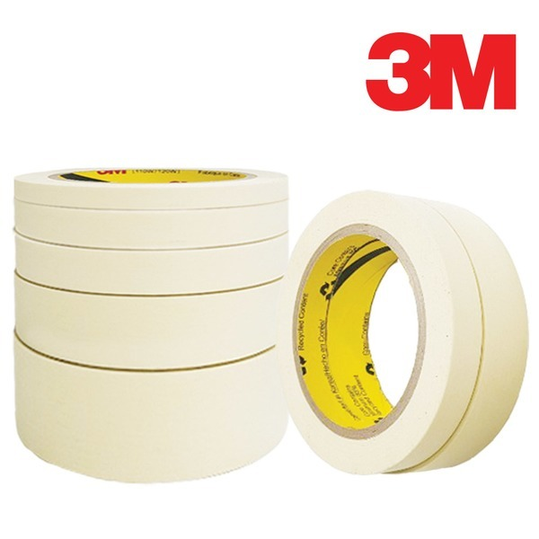 3M 110 마스킹테이프 종이테이프 도색 10mm-15mmX 40M