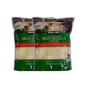 커클랜드 시그니처 쉬레드 모짜렐라 치즈 1.13kgx2개