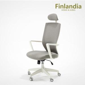 핀란디아 시프트 화이트 책상의자 사무용의자