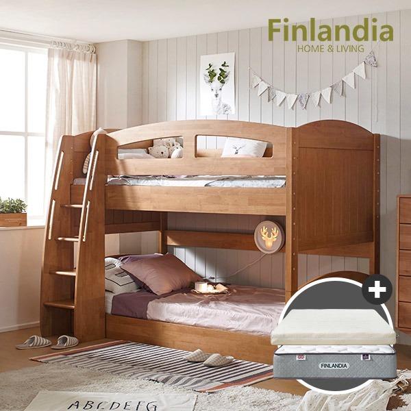 핀란디아 지니2층침대(독립스프링1EA+플레이포켓1EA)