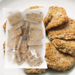 식자명가_깻잎육전 1kg/국내산 닭/향긋한 깻잎 고소함