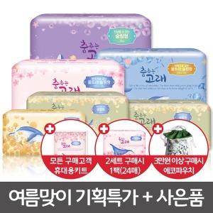 생리대 중형 대형 팬티라이너 오버나이트 48/320매