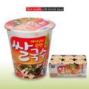 백제 쌀국수 김치맛 컵라면(미니컵) 58g x 6개