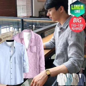 데일리 여름 셔츠 린넨셔츠/7부셔츠/스트라이프셔츠