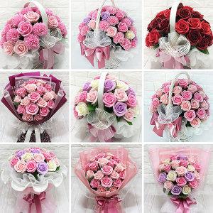 비누꽃16800~꽃다발 장미 카네이션 꽃바구니 생일선물