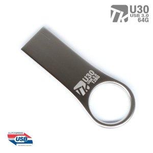 메탈 USB3.0 메모리 U30-64GB 무료각인 무료배송