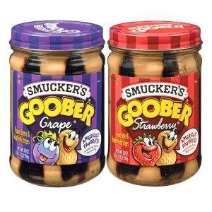 구버 포도 510g+구버 딸기 땅콩버터 510g