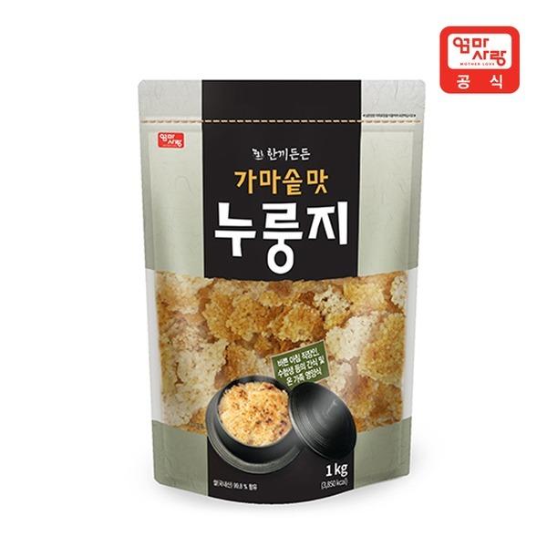 한끼든든 가마솥맛 누룽지 1kg     /국내산/누룽지탕