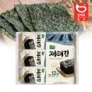 바삭 바삭한 재래김 도시락 4g x 12봉  /도시락김