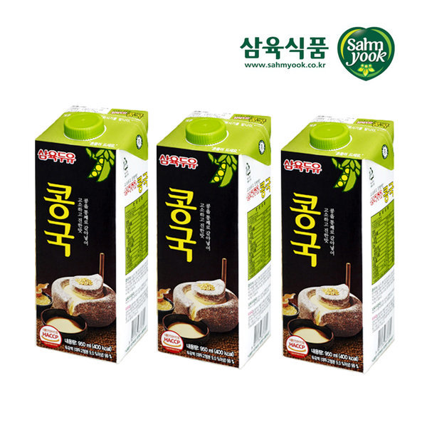 삼육두유 콩국 950ml x 12팩