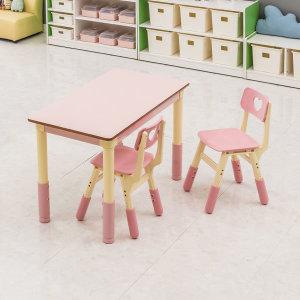 스위티 2인세트 (책상1+의자2) / 높이조절형