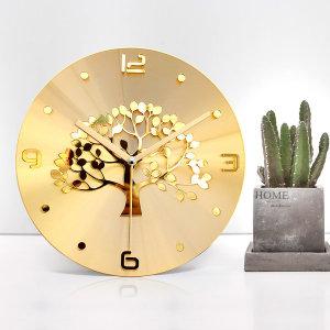 황금나무 골드 인테리어 벽시계 (특별한시계 40종할인)