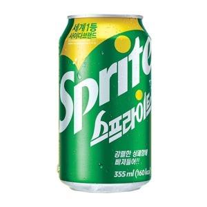 스프라이트 사이다 음료 355ml 24캔/탄산음료 음료수