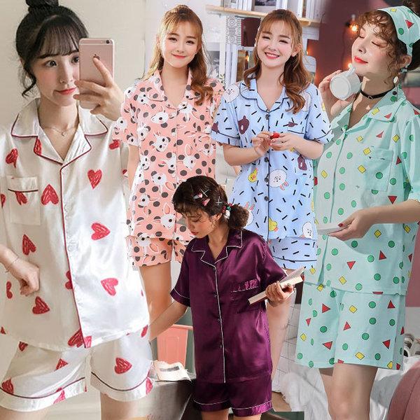 2875d5d34cf 엣지걸샵 여름잠옷세트 짱구잠옷 홈웨어 파자마 - 옥션