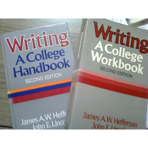Writing A College Handbook + Writing A College Workbook /(두권/Second Edition/영어원서/