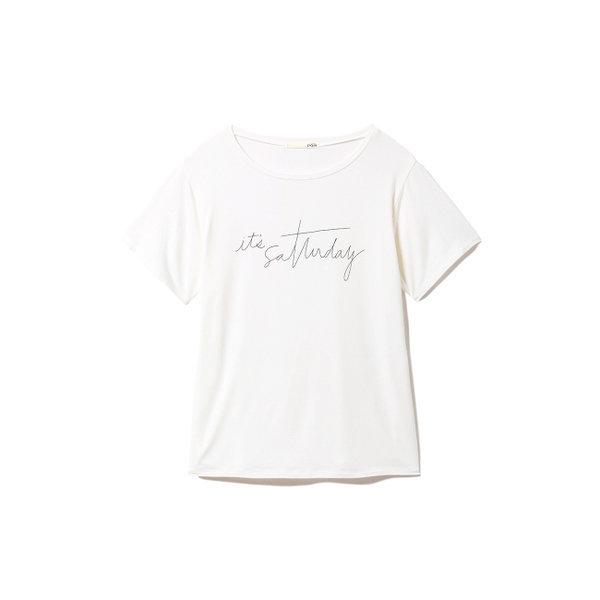 젤라토피케 레이온 로고 티셔츠