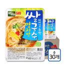 백제 멸치맛 즉석 쌀국수 30개