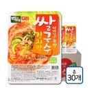 백제 김치맛 즉석 쌀국수 30개