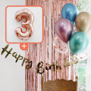 생일파티 4종세트(메탈크롬)+숫자풍선(로즈골드)_3