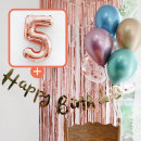 생일파티 4종세트(메탈크롬)+숫자풍선(로즈골드)_5