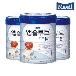 앱솔루트 본 1단계 750g 분유 3캔 무료배송