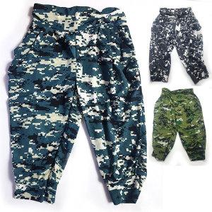 아동 밀리터리 7부바지/ 홈웨어 잠옷
