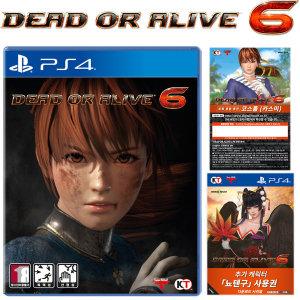 PS4 데드 오어 얼라이브 6 / 한글판 예약판 새상품
