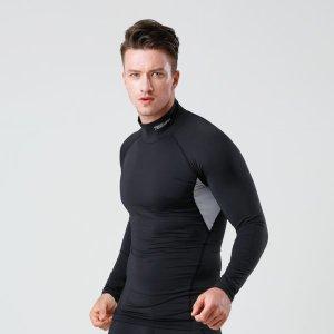 기능성 스포츠 이너웨어 긴팔 언더레이어 터틀넥 셔츠