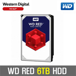 WD RED 6TB NAS HDD WD60EFRX +WD正品 공식판매점+
