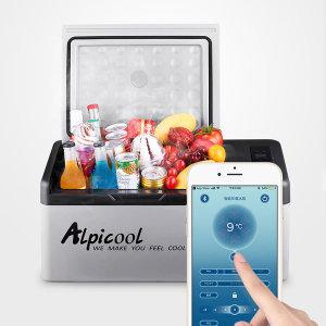 ALPICOOL 알피쿨 차량용 가정용 냉장고 APP 연동 C15L