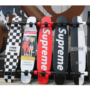 슈프림 댄싱 롱보드 46인치 스케이트 보드