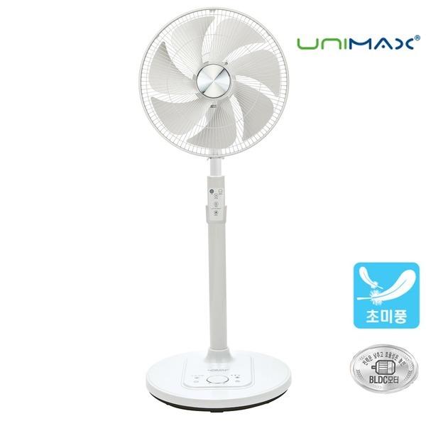 유니맥스 UMF-D9406SR 리모콘 BLDC모터 저소음 선풍기
