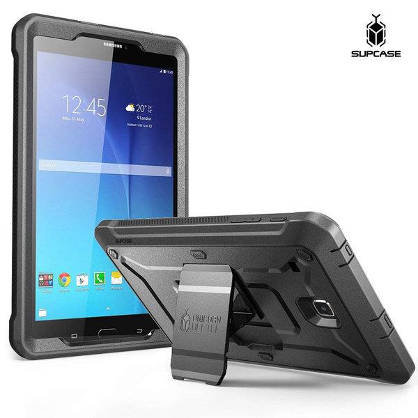 Supcase 갤럭시탭E 8.0 태블릿 케이스 보호커버 블랙