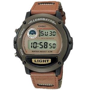 카시오정품 W-89HB-5A 스포츠 전자손목시계 남성여성