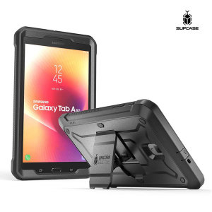 Supcase 갤럭시탭A 8.0 태블릿 케이스 보호커버 블랙