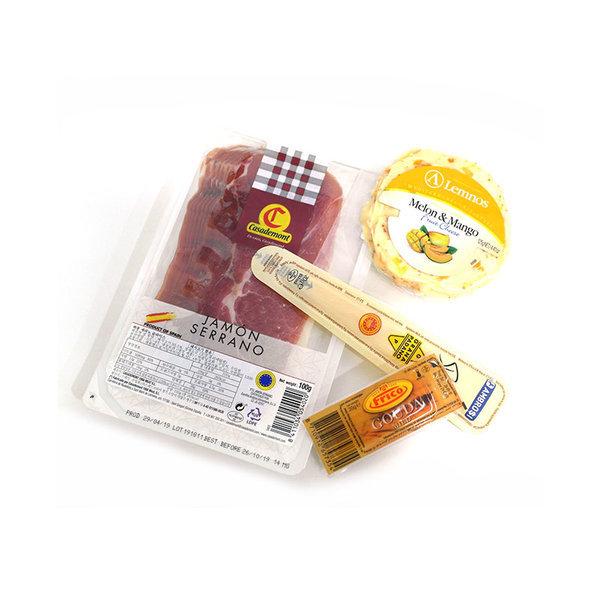 실속 와인 안주 세트 추천 -하몽과 치즈모음
