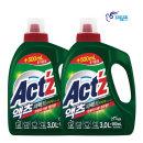 액츠 퍼펙트 액체세제 세탁세제 안티박 3.5L 2개